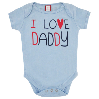 Bug & Kelly I Love Daddy Onesie for Boys