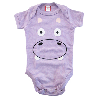 Bug & Kelly Purple Hippo Onesie