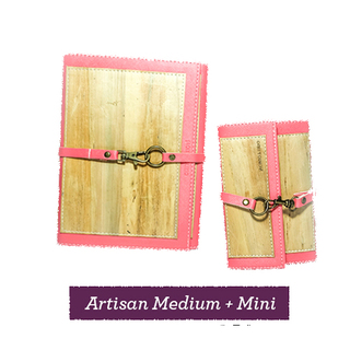 Artisan Dual Cover Journal Medium and Mini Bundle
