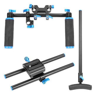 Dual Grip Shoulder Camera Stabilizer