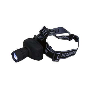 High Power 3 Watts LED Head Lamp - Black