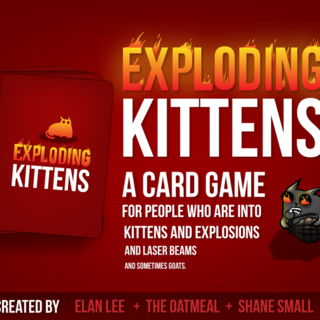 Exploding Kittens (Card Game)
