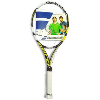 Babolat Aero Pro Lite GT  Tennis Racket (Black and Yellow)