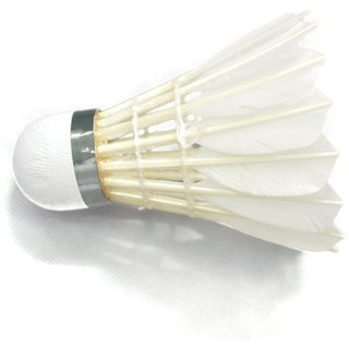 Babolat Volant's Plume No.4 Set of 12 Shuttlecock (White)