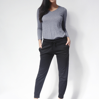 Ashley Collection Mylene Jogger Pants (817-Black)