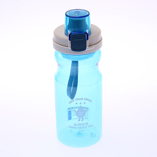 Artbox Keep Your Smile Water Bottle (Blue)