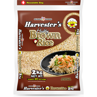HARVESTER'S Brown Rice - 2kg (4809010955456)