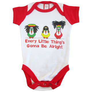 Bug and Kelly Every Little Thing's Gonna Be Alright Onesie
