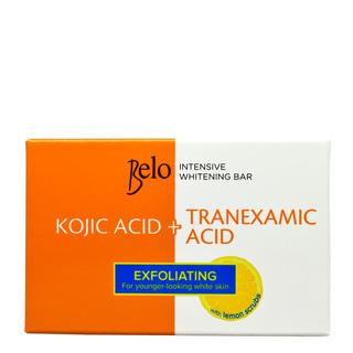 BELO INTENSIVE WHITENING (KOJIC+TRANEXAMIC) BAR WITH EXFOLIATING  LEMON SCRUBS 65G