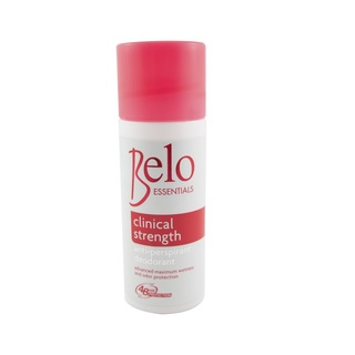 BELO ESSENTIALS CLINICAL STRENGTH ANTI-PERSPIRANT DEODORANT ROLL-ON 40ML