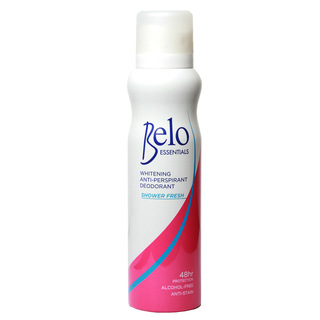 Belo Essentials Whitening Anti-Perspirant Deodorant Shower Fresh Spray 140mL
