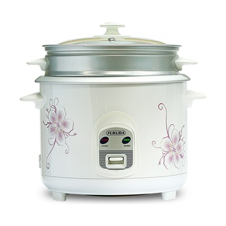 Fukuda 10 Cup 3 in 1 Rice Cooker, Warmer and Steamer 1.8L FRC-18 White