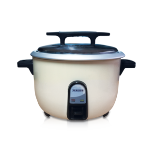 Fukuda 23 Cup 2 in 1 Rice Cooker and Warmer 4.2L FRC-42L White
