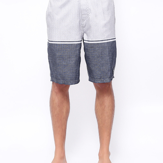 ISLAND HAZE MENS GRAY  BOARDSHORT (0221)