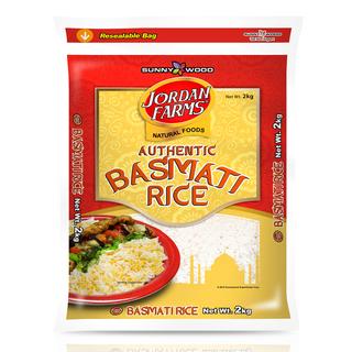 JORDAN FARMS Basmati - 2kg