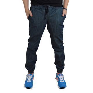 OWPH MEN'S  JOGGER PANTS BLUE JEANS