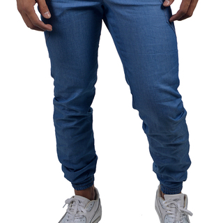 OWPH MEN'S JOGGER PANTS DETAIL POCKET (LIGHT BLUE)
