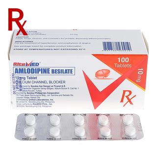 Amlodipine 10mg Tablet (10pcs) Rx