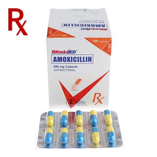 Amoxicillin 500mg Capsule (10pcs) Rx