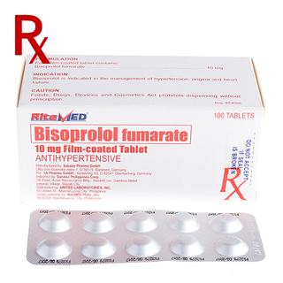 Bisoprolol 10mg Tablet (10pcs) Rx