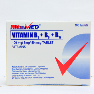 Vitamin B Complex Tablet (20 pcs)