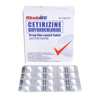 Cetirizine 10mg Tablet (20pcs)