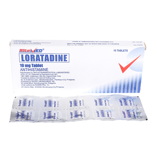 Loratadine 10mg  Tablet (10pcs)