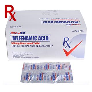Mefenamic Acid 500mg Tablet (4pcs) Rx