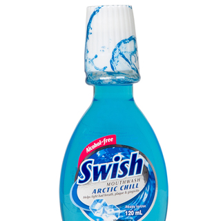 SWISH ARCTIC CHILL MOUTHWASH 120ML