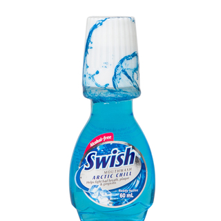 SWISH ARCTIC CHILL MOUTHWASH 60ML