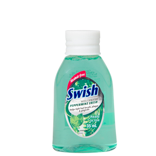 SWISH PEPPERMINT MOUTHWASH 35ML