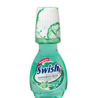 SWISH PEPPERMINT MOUTHWASH 60ML