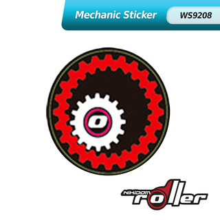 Nikidom Mechanic Wheel Sticker WS9208