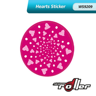 Nikidom Hearts Wheel Sticker WS9209
