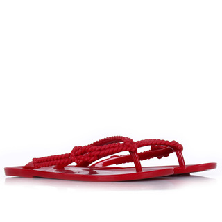 MELISSA SALINAS SLIPPER RED (44290)