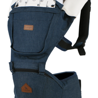 I-ANGEL DENIM SOLID HIPSEAT CARRIER