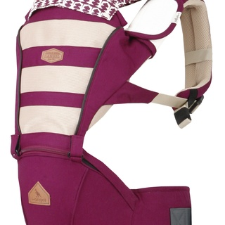 I-ANGEL MESH PLUM HIPSEAT CARRIER