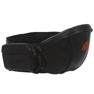 I-ANGEL LEATHER HIPSEAT IN BLACK
