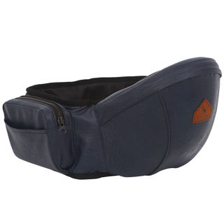 I-ANGEL LEATHER HIPSEAT IN NAVY