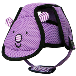 I-ANGEL SAFETY BABY HELMET (VIOLET)