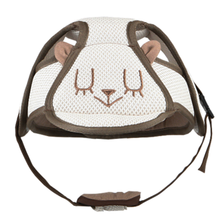 I-ANGEL SAFETY BABY HELMET (BEIGE)
