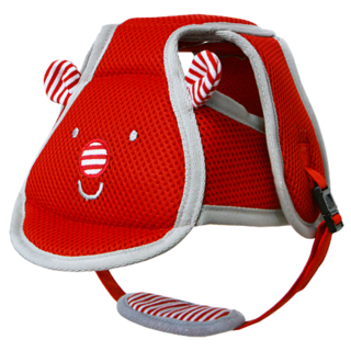 I-ANGEL SAFETY BABY HELMET (RED)