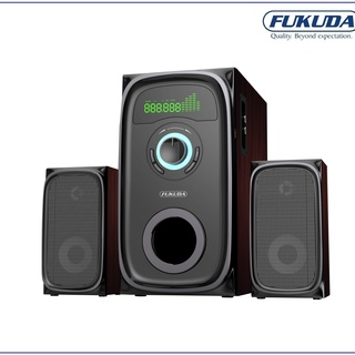 Fukuda 2.1 Channel Home Theater System 80W RMS with Bluetooth FHT-80RUS Black