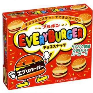 Bourbon Choco Biscuit Everyday Burger 66g - 4901360305896 (2519052)
