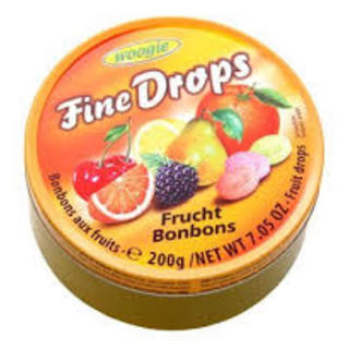 Woogie  Fruit Mix Candies 200g - 9002859055553 (2565644)