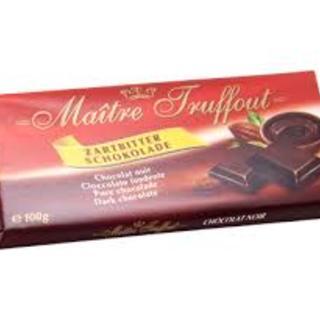 Maitre Truffout Dark  Chocolate 100g - 9002859042560 (2609483)