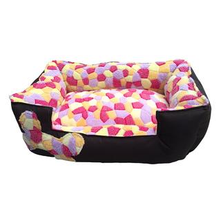 Pet Depot Softest Dog Bed Ever in Bright Pentagons