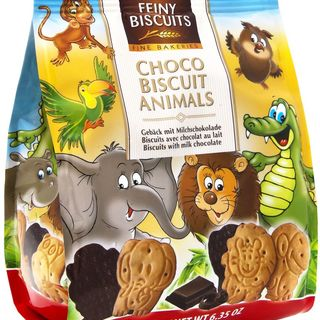 Feiny Biscuit Milk Choco Animal Biscuits 180g - 9002859052835 (2565702)