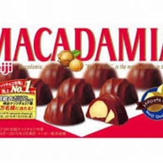 Meiji Macadamia Chocolate 64g - 4902777006284 (2577990)