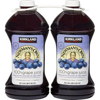 Kirkland Signature Newman's Own 100% Grape Juice 2.84L - 96619467211 (2111621)